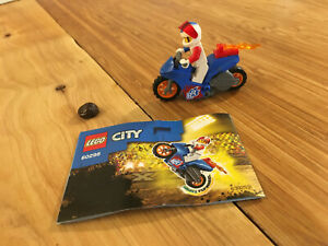 Lego City Town Set 60298 Rocket Stunt Bike (2021).
