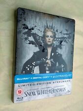 SNOW WHITE AND THE HUNTSMAN Sealed Steelbook Bluray DVD UK Import