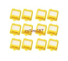 NEW 12 x Roomba 700 Hepa Filter Set 760 770 780 790  aerovac 2 yellow  761 771