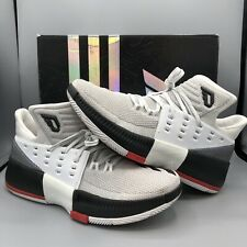 release date: 2bfed 0d835 Adidas Dame Lilllard 3 Black White Basketball Shoes Size 8.5 BB8268 Rose  Boost