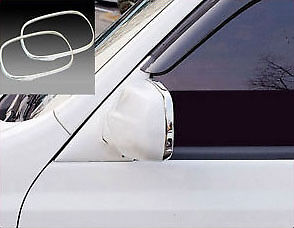 Chrome Side Mirror Cover 2P For Ssangyong Rexton
