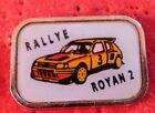 RARE PIN'S VOITURE PEUGEOT 205 GTI 16 TURBO RALLYE ROYAN 2