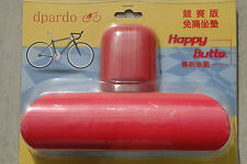 DPARDO Happy Butts T2 No Nose Seat Saddle - Bike Bicycle Cycling Red 8x5""