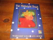 THE MIDNIGHT FEAST BY MARGARET WILD SOFTCOVER BRAND NEW