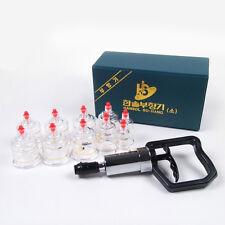 Hansol Bu-Hang Massage Professional Cupping Set - 10 PCS Cup Set