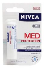 Lip Balm NIVEA MED PROTECTION With Vitamin E Immediate Relief Of the Lips 4.8g