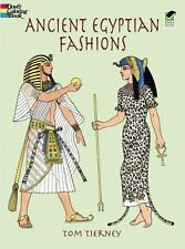 Dover Fashion Coloring Book: Ancient Egyptian Fashions by Tom Tierney (1999, Pap