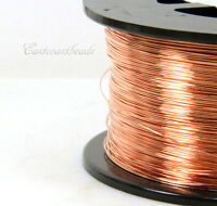 Copper Wire, 26 Gauge, ROUND Dead Soft, Copper Jewelry Wire, 50 Feet, 006