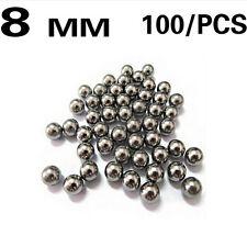 100x 8mm Catapult Slingshot Ammo Steel Balls Steel Balls ball Hunting VE
