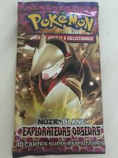 Booster Pokemon Noir Et Blanc Explorateurs Obscurs