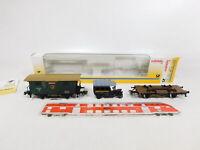 CK524-0,5# Märklin H0/AC 63-01/4501 Wagen-Set 500 Jahre Post KWStE KK, NEUW+OVP
