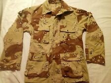 USMC ARMY OIF I Desert Chocolate Chip 6 COLOR Camouflage Coat JACKET SMALL REG