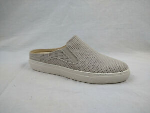 Skechers Vaso Mitad Natural Perforated Slides Mules Shoes Women's Size 6 M US