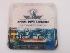Cool Foam Beer Collectible Coaster: ANGEL CITY Brewery ~ Los Angeles, CALIFORNIA