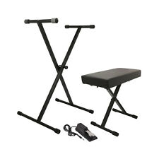 On-Stage Keyboard Stand Ks7190 + Kt7800 Bench + Ksp100 Sustain Pedal Package