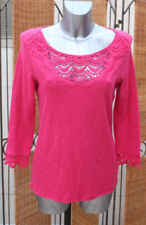Marks and Spencer Scoop Neck 3/4 Sleeve Tops & Shirts for Women