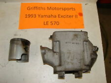 1993 YAMAHA EXCITER 2 II LE 570 92 91 EX std cylinder piston rings 88R00 72.7mm