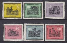 Germany  DDR 444-49 MNH 1959 Various Types of Birds Complete Set Very Fine
