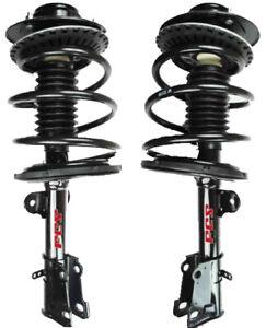 2 Suspension Strut & Coil Spring Assemblies Front for Toyota RAV4 06-12 Sport