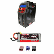 Venom 40C 2S 5000mAh 7.4V Sport Power LiPo Battery with Pro Duo Charger Combo