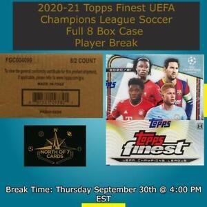 Youssoufa Moukoko 2020-21 Topps Finest UEFA Champions League Case Break #9