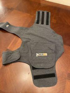ThunderShirt Insanely Calm Classic Dog Anxiety Jacket, Gray, Size Medium