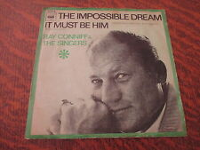 45 tours ray conniff & the singers the impossible dream