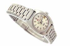 Vintage Rado 990 Stainless Steel Automatic Ladies Petite Watch 1057