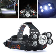 LED Zoom Headlight Torch T6 Headlamp Head Light Lamp + Charger