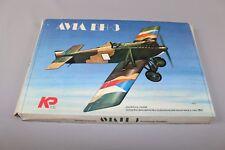 ZF760 Plastikovy Models 1/72 maquette avion militaire Kit N° 22 Avia BH-3