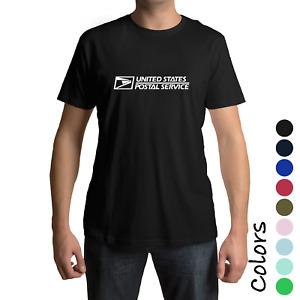 NEW Unisex USPS T-Shirt Postal Service casual Tee post Office T shirt (S-3XL)