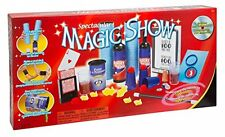Ideal 100 Trick Spectacular Magic Show Suitcase Kit w/ DVD and Props -- New