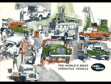 LAND ROVER  SERIES-III '88' & '109' RETRO POSTER BROCHURE CLASSIC ADVERT A3