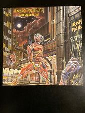IRON MAIDEN~SOMEWHERE IN TIME~LP~SJ-12524~CAPITOL~1986