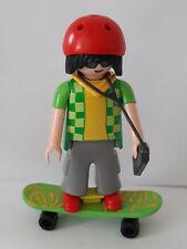 Playmobil série 7 skateur pour city life summer fun école maison collector
