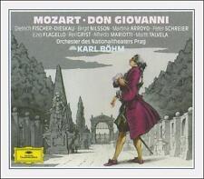 Mozart: Don Giovanni (CD, Jul-1990, 3 Discs, Deutsche Grammophon)