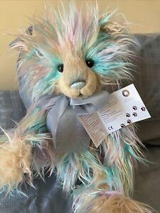 Charlie Bears Aurora Plush Collectable Teddy Bear With Tags