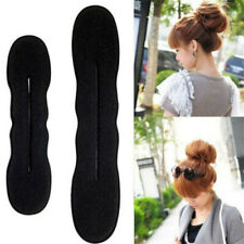 Magic Sponge Hair Styling Curler Tool Clip Donut Bun Tool Maker Ring Twist 2Pcs