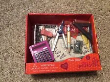 New Our Generation doll accessories Math Whiz school. American