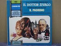 COLONNA SONORA - IL DOTTOR ZIVAGO / IL PADRINO - LP - 33 GIRI - MINT/MINT