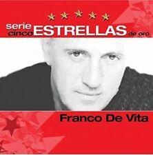 Franco De Vita Serie Cinco Estrellas De Oro CD New
