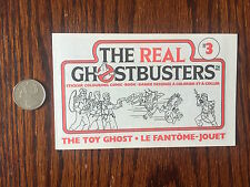 The Real Ghostbusters Comic Book #3 Cereal Box Premium Nabisco Shreddies