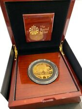 Extremely Rare Elton John 2020 Five Ounce Gold Proof Coin UK, one of 50