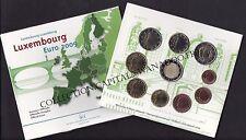 Luxembourg BU 2009 Coffret 10 pièces:la série + 2€ EMU  + 2€ Henri et Charlotte