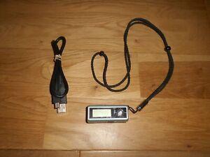 SAMSUNG SMALL BLUE DIGITAL AUDIO PLAYER YP-T4 128 MB MP3 GWO