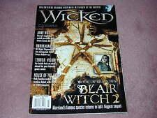 WICKED magazine, vol.2 no.3, Blair Witch 2, Anne Rice, William DaFoe, Rob Zombie