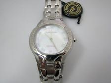 c620 Elegant and Handsome Klaus Kobec Quartz Timepiece with Mother of Pearl Dial
