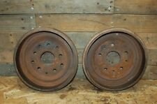 63 1964 64 1965 65 66 FORD F100 PICKUP TRUCK REAR BRAKE DRUMS 11 inch x 2 inch