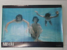 Nirvana Japan Promo Poster MCA Victor Kurt Cobain Foo Fighters Pool Never Mind