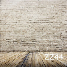 5X7FT Brick Floor Vinyl Photography Backdrop Background Studio Photo Props ZZ44